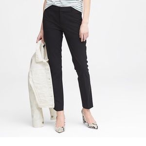 Banana republic Petite Ryan's straight fit pant
